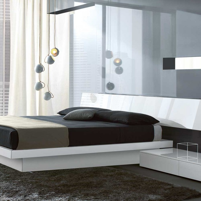 Slim Storage Bed