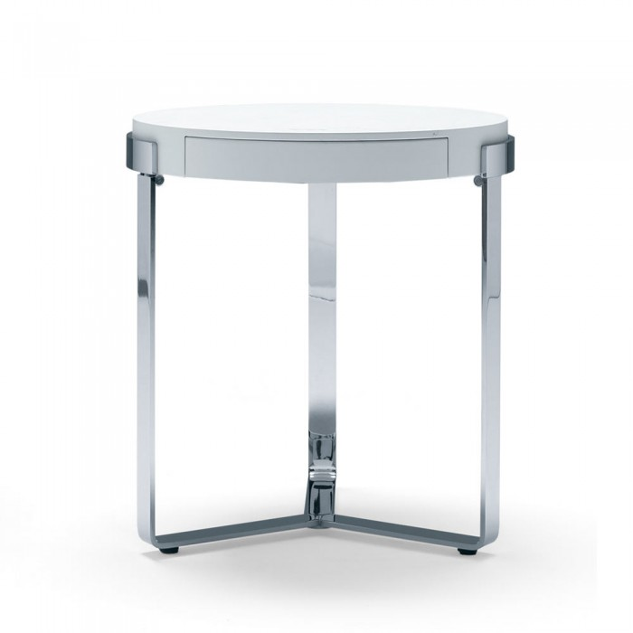 Ring Table With Drawer
