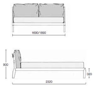 Eladio Bed Dimensions