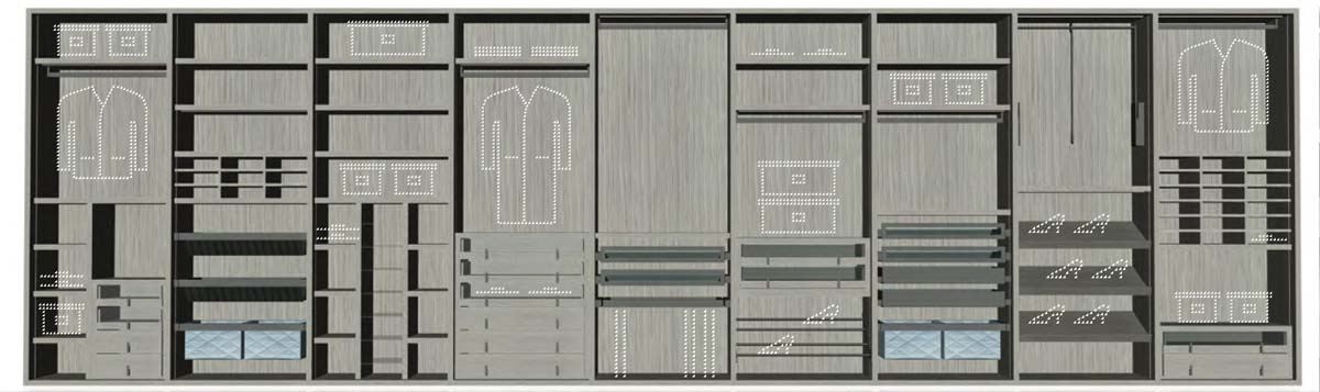 I-Box Wardrobe Collection
